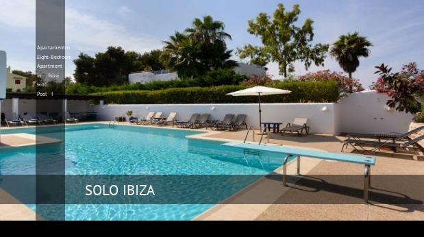 Otto camere da letto Appartamento Appartamenti a Ibiza con piscina a ...
