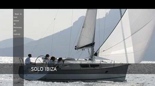 boat in sant antoni de portmany 10 metres
