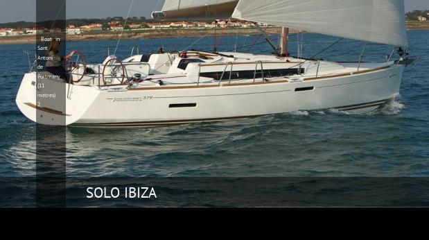 boat in sant antoni de portmany 11 metres 2
