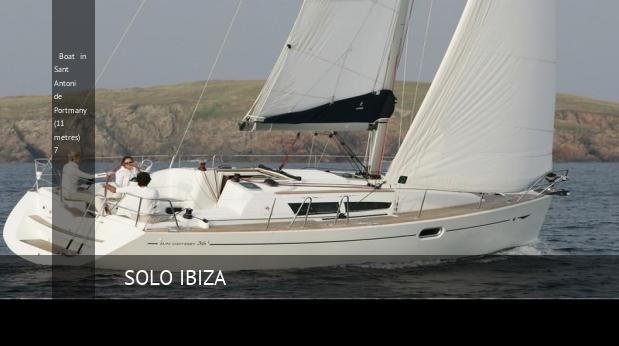 boat in sant antoni de portmany 11 metres 7