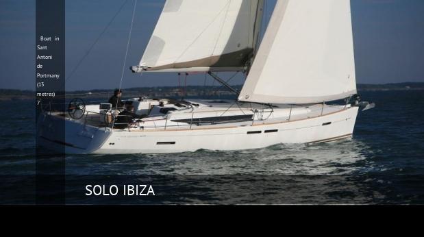 boat in sant antoni de portmany 13 metres 7