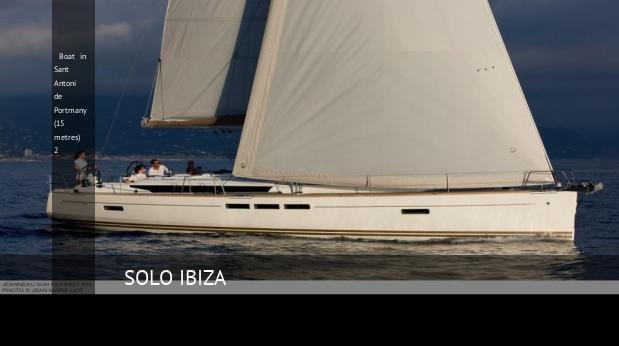 boat in sant antoni de portmany 15 metres 2