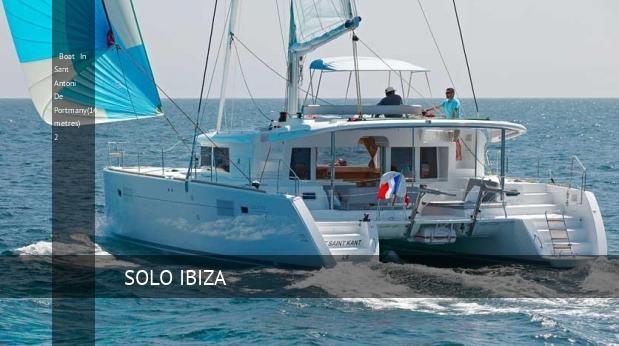 boat in sant antoni de portmany14 metres 2