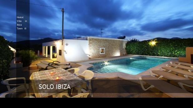 hostal villa in ibiza town iii