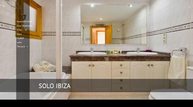 apartamentos four bedroom villa in ibiza ciudad with terrace i reverva 3