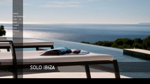 hostal four bedroom villa in ibiza ciudad with terrace iii reverva 3