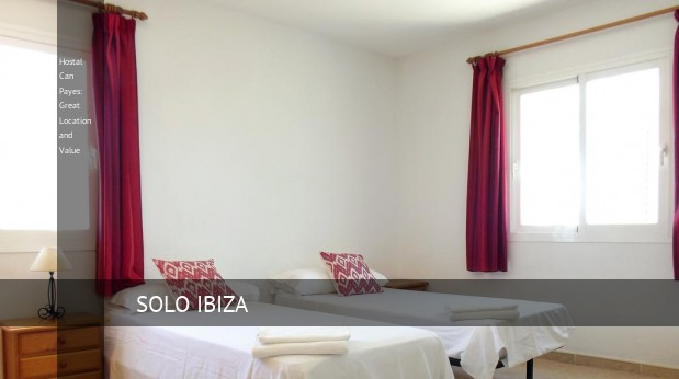 hostal can payes great location and value reverva 3
