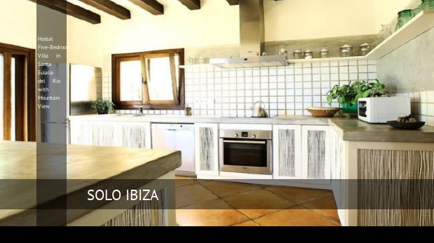 hostal five bedroom villa in santa eulalia del rio with mountain view reverva 3