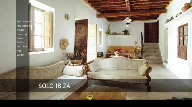 apartamentos four bedroom holiday home in santa eulalia del rio with garden reverva 3