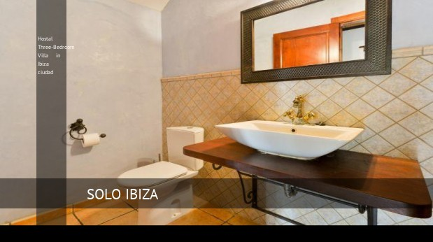 hostal three bedroom villa in ibiza ciudad reverva 3