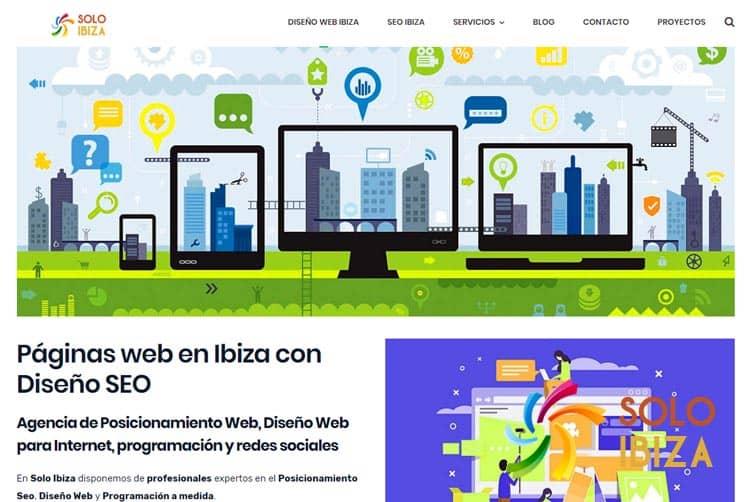 Diseño de páginas web en Ibiza